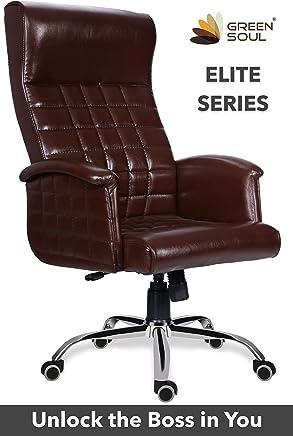 Green Soul Elite Boss/CEO/Director/Maharaja Chair (Brown)
