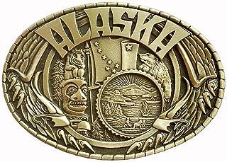 Men's Alaska Belt Buckle