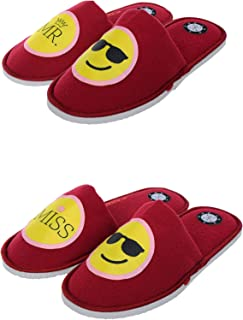 SQUETCH MR & Miss Cool Combo Home Slippers