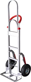Tyke Supply Aluminum Stair Climber Hand Truck with Extra Tall Handle Solid Tires