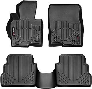 WeatherTech Custom Fit FloorLiner for Mazda CX-5-1st & 2nd Row (Black)