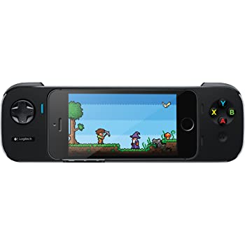 Logitech PowerShell Controller with Battery for iPhone 5/5S and iPod Touch 5th Generation - Black