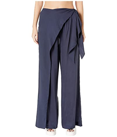 Jonathan Simkhai Hawaiin Sarong Wrap Pant (Midnight) Women