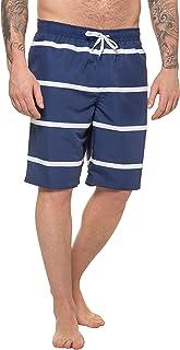 JP 1880 Große Größen Badeshort Streifen Costume a Pantaloncino Uomo