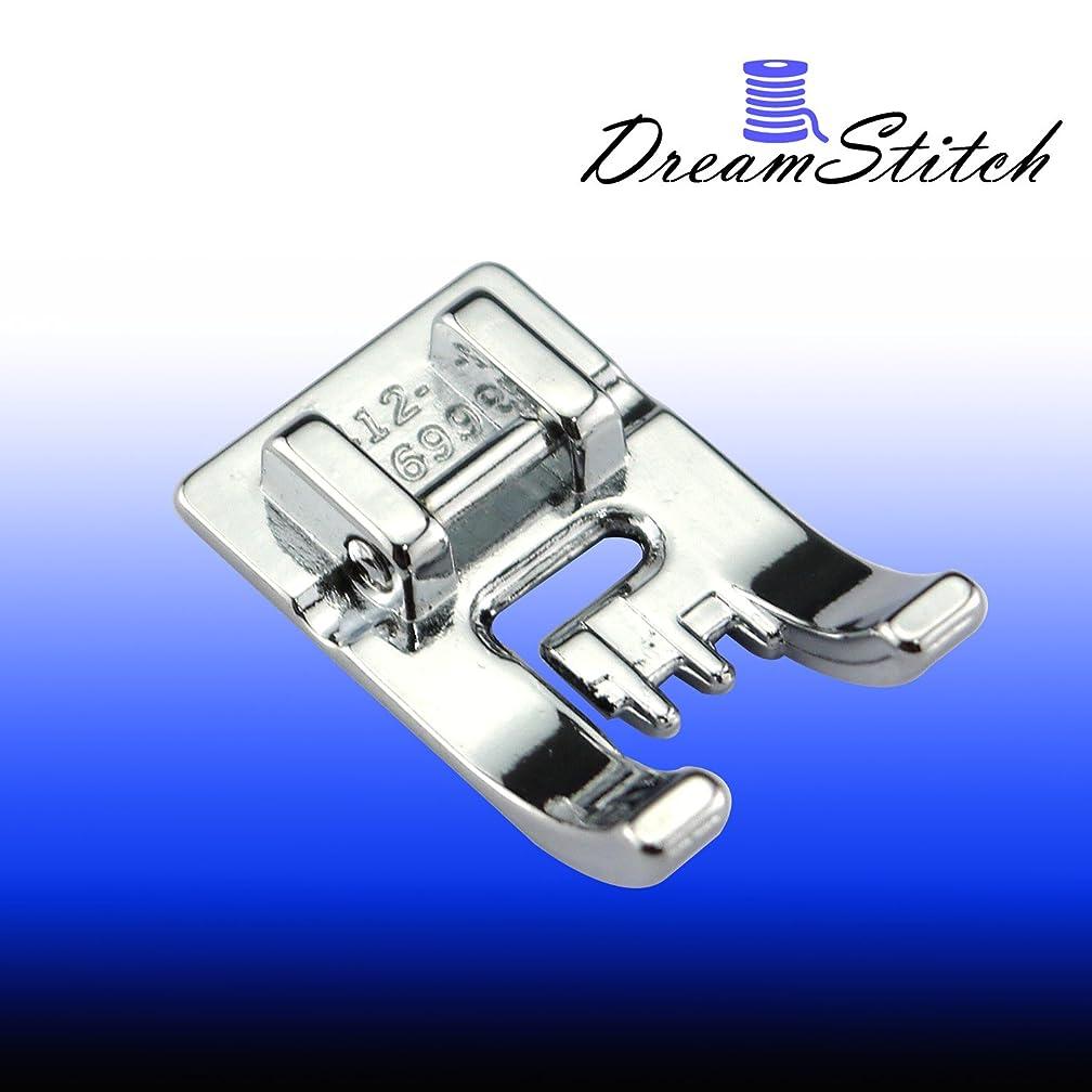 DREAMSTITCH 5 Groove Pintuck Presser Foot for Husqvarna Viking #4123699-45