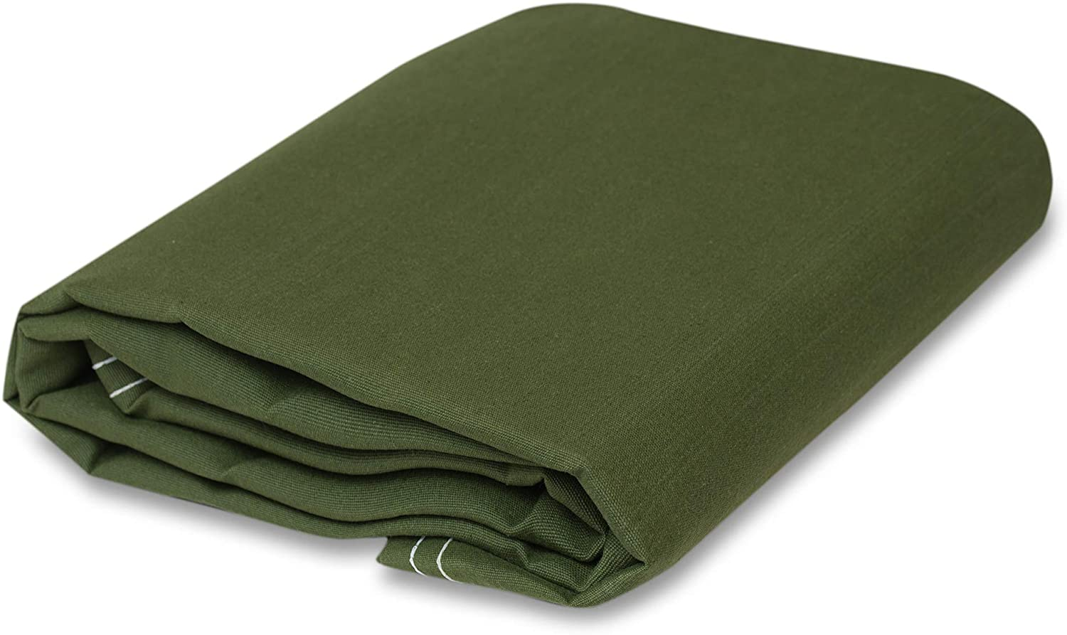 CCS CHICAGO CANVAS /& SUPPLY Iron Horse Canvas Tarp 5 feet x 7 feet, Green
