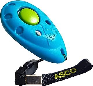 ASCO Premium Clicker pour Dressage de Chien, cliquet Professionnel pour Chiens, Chats, Chevaux; cliquet pour Dressage de ...