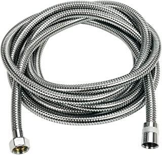 Shower Head Hose Extra Long,138-Inch SUS 304 Stainless Steel Handheld Showerhead Hose Extender,Bathroom Tube Sprayer Replacement Extension hose,Chrome,A3107C-3.5,PHASAT