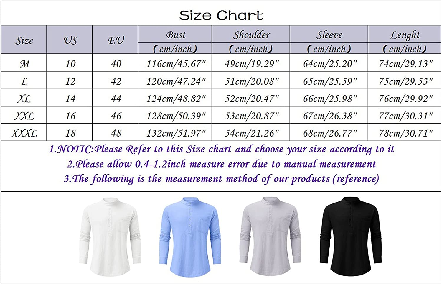 DZQUY Mens Summer Henley V Neck Shirts Long Sleeve Beach Pullover Workout Tees Loose Casual Work Tops Blouse with Pocket