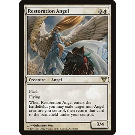 Magic The Gathering - Restoration Angel (32) - Avacyn Restored