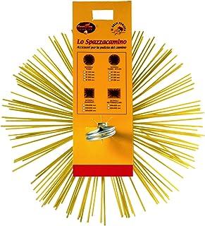 Best Fire 06235Scovolo tondo Nailon, Amarillo, 200mm