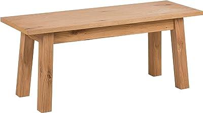 AC Design Furniture Chara 67255 Banc en chêne Sauvage Taille L/B/H env. 110/38/46 cm