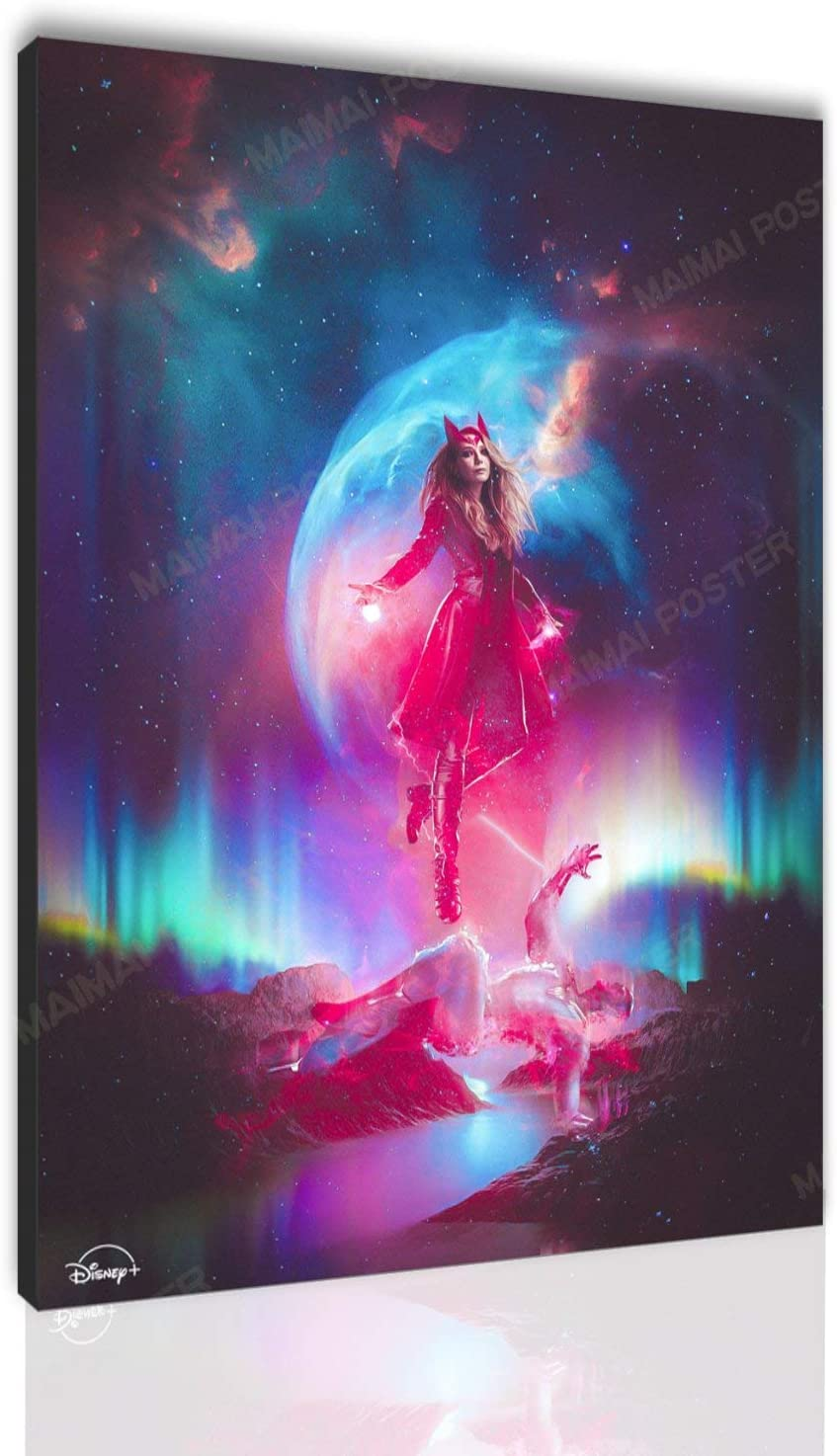 Wanda Vision Canvas 本物 Posters 完売 Scarlet Witch HD Movie Poster Print