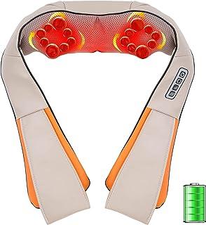 Masseur Cervical,3D-Rotation Massage de cou Electrique Intelligent avec Fonction de Chauffage, Direction et Vitesse Réglab...