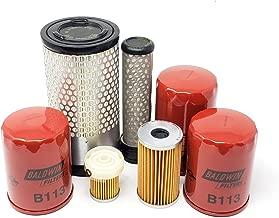 Kubota B3030HSD B3030HSDC B3030HST w/Kubota V1505 Engine Filter Kit