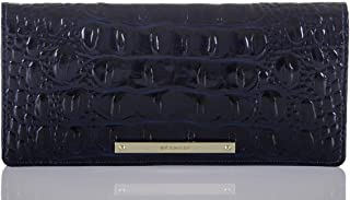 Brahmin Ady Melbourne Wallet Sapphire Blue Leather