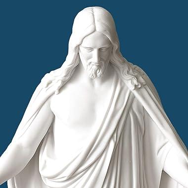 Deseret Book - Christus Statue - Christian Decor - Jesus Statue - Jesus Home Decor - Inspirational Sculpture - Christian Livi
