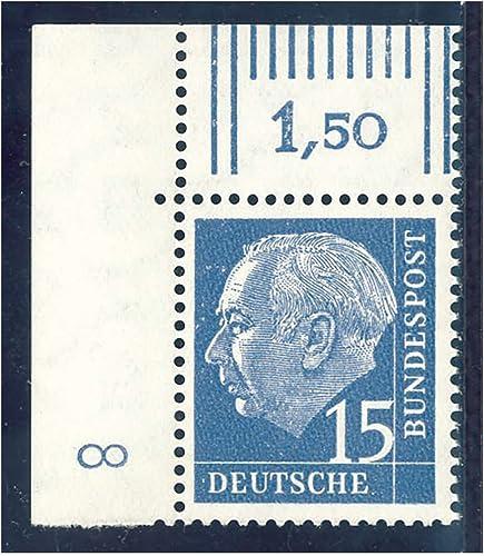 Goldhahn BRD Bund Nr. 184 xW DZ 8 postfrisch  Briefmarken für Sammler