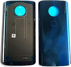 Eaglewireless Compatible Rear Panel Cover Back Glass Replacement Parts for Motorola Moto G6 Plus XT1926-7 XT1926-6-Blue