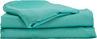 Hotel Sheets Direct Bamboo Bed Sheet Set 100% Viscose from Bamboo Sheet Set (Twin, Turquoise)