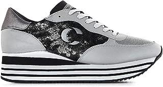 Crime London Luxury Fashion Womens 25624AA2B25 Silver Sneakers | Fall Winter 19