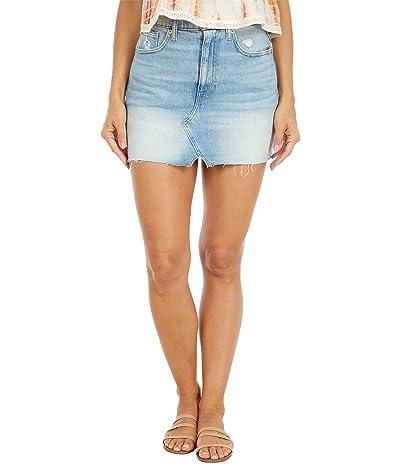 Lucky Brand High-Rise Cutoffs Skirt in Cortina