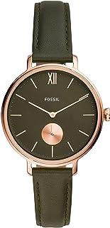 FOSSIL - Reloj de mujer de piel de cuarzo ES4975.