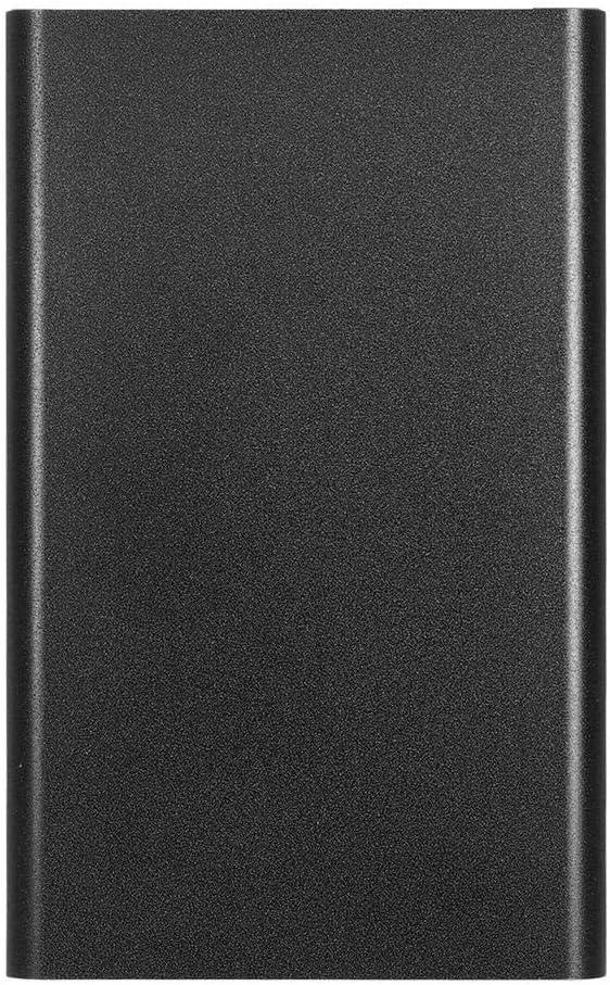 Disco duro externo portátil de 2 TB – Actualización HDD portátil USB 3.0 para PC, portátil, Mac, Chromebook (2 TB, negro)