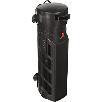 Aquatop Aquatic Supplies 003561 Multi Stage Submersible UV Filter Black, 395 GPH