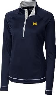 Cutter NCAA Womens NCAA Women's Long Sleeve Evolve Half Zip Jacket