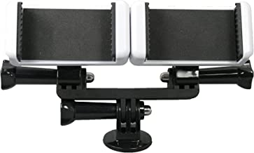 OCTO MOUNTS - Dual Tripod Mount Adapter for Live Video and Photography with Multiple Devices. Compatible with Smartphones and Action Cameras: iPhone, Samsung Galaxy, GoPro, Android, Google Pixel, etc.