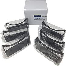 6 Black or Purple Compatible Replacement TEC/NCR MA-1350 R2156 MA1350 Cash Register Ink Ribbon Cartridge to Replace ERC-32 Nylon POS Receipt Machine/dot Matrix Printer