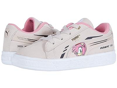 PUMA Kids Sega Suede Sonic AC (Toddler) Girls Shoes