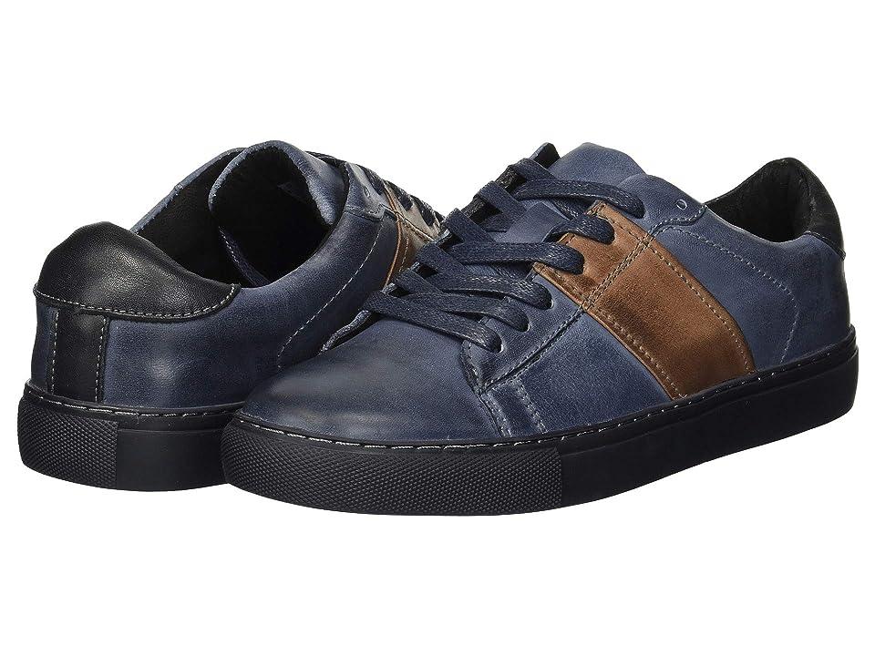 Kenneth Cole Reaction Blayde Sneaker (Navy/Brown) Men
