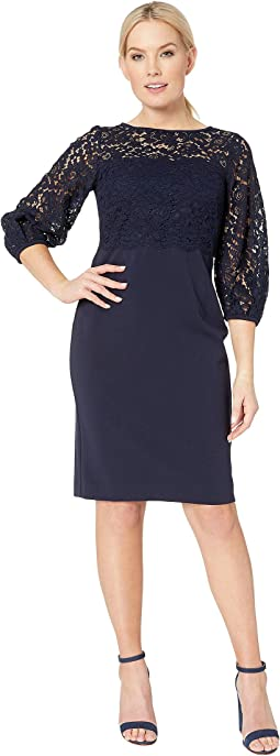 Claire Luxe Tech Crepe Dress