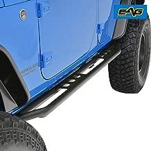 EAG Rock Sliders Fit for 07-18 Jeep Wrangler JK 4 Door Rocker Guard Body Armor