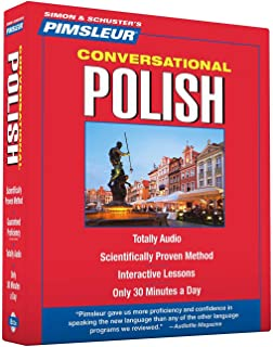 Pimsleur Polish Conversational Course - Level 1 Lessons 1-16 CD: Learn to Speak and Understand Polish with Pimsleur Language Programs (1)