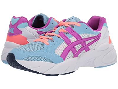 ASICS Kids Gel-Bnd (Big Kid) (Heritage Blue/Orchid) Girls Shoes