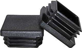 Sponsored Ad - Prescott Plastics 1 1/4 Inch Square Plastic Plug, Tubing Post End Cap, Chair Glide (8)