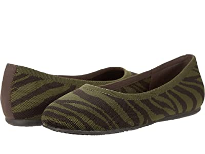 SoftWalk Sonora (Dark Olive/Dark Brown Tiger) Women
