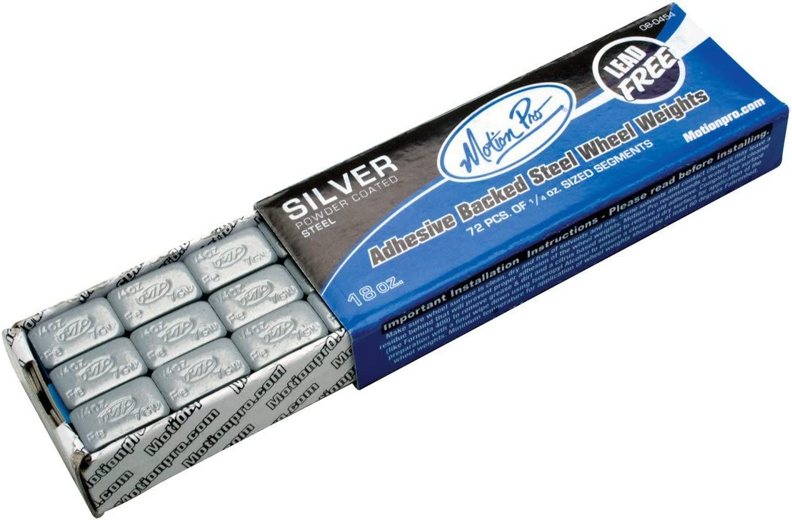 Motion Nashville-Davidson Mall Pro 08-0454 Silver Wheel Max 79% OFF Weight Steel