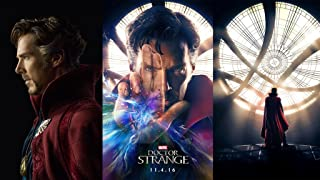 Remarkable Poster's Doctor Strange Movie 12 x 18 Inch Poster Ultra HD Multicolour Unframed Rolled Print