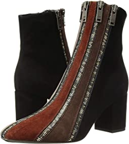 Multi Zip Ankle Boot