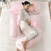 Side Sleeping Waist Pillow Pregnant Woman Belly Support Pillow G Type Multifunctional Waist Cushion 100% Cotton 180Cm*115...