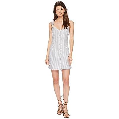 Free People Living Color Mini Dress (Grey Combo) Women