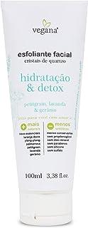 VeganaEsfoliante Facial Hidratacao E Detox 100ml, VEGANA
