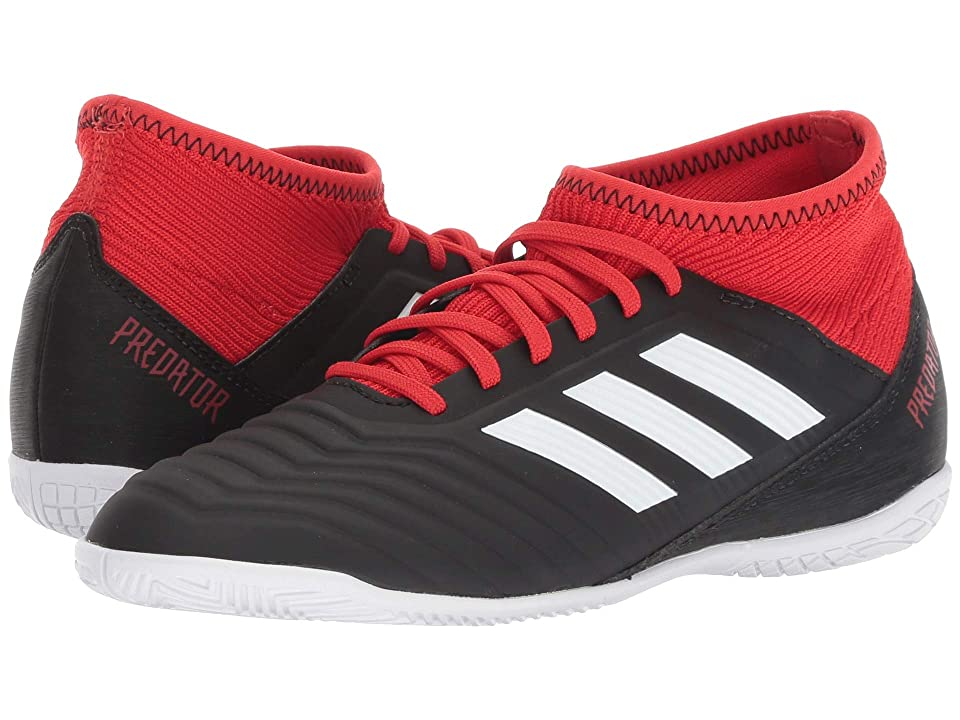 adidas Kids Predator Tango 18.3 IN Soccer (Little Kid/Big Kid) (Black/White/Red) Kids Shoes