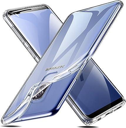 ESR Transparent Silikon Handy Hülle für Samsung Galaxy S9 Plus Weiche Handyhülle [Ultradünnen] Durchsichtig TPU Kratzfest Schutzhülle Silikonhülle kompatibel mit Samsung Galaxy S9+ - Transparent