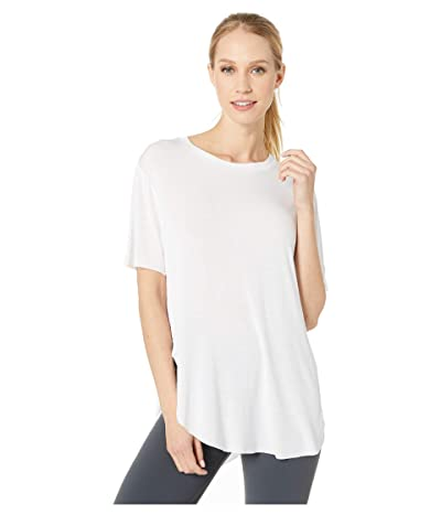 ALO Lithe Tee (White) Women