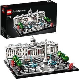 LEGO 21045 Architecture Trafalgar Square, Arkitektur Byggsats, London, Samlingsbara Byggklossar